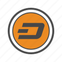 cryptocurrencies, cryptocurrency, dash icon