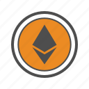cryptocurrencies, cryptocurrency, ethereum icon