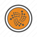 cryptocurrencies, cryptocurrency, iota icon