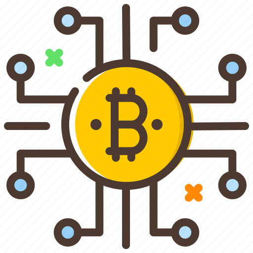 blockchain, cryptocurrency, digital currency, encryption, network icon