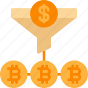 bitcoin, conversion, cryptocurrency, finance, funnel