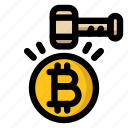 bitcoin, cryptocurrency, law, moderation, regulation icon