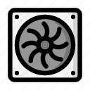 cooling, fan, refrigeration, ventilation icon