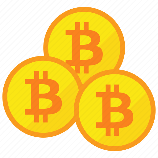 bitcoin, cryptocurrency, digital money, mining icon