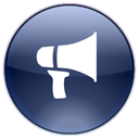 advertisement, announcement, blog, megaphone, notifications, promote icon