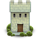 castle, fortress, tower, war icon