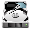 disk, harddrive icon