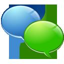 bubble, comment, irc, protocol, speech