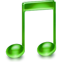 itunes, music, note, sound icon