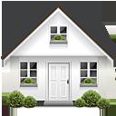 bushes, door, home, house, parcel