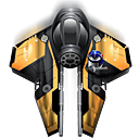 anakin, fighter, skywalker, spaceship icon