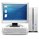 computer, monitor, pc, personal computer, screen icon