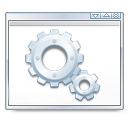 development, gear, package icon