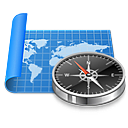 browser, map, navigation, navigator icon