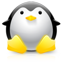penguin, tux, ux icon