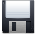 save, disk, floppy, backup, guardar icon
