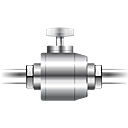 construction, electrical, pipe, plumbing, valve icon
