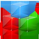 cubes, module, modules icon