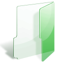 folder, green