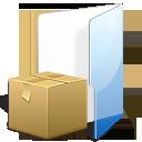 folder, tar, box, zip