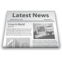latest news, news paper, newsletter icon