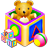 games, kids, package icon