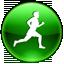 agt, member, running icon