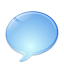 chat, globe icon