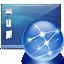 desktop, internet, network icon