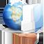 folder, hand, internet, share icon
