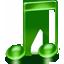 itunes, music, note, sound icon