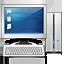 computer, monitor, pc, personal computer, screen icon