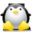penguin, tux, ux icon