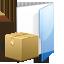 box, folder, tar, zip icon