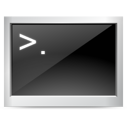 console, dos, terminal icon