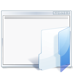 open, project icon
