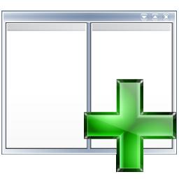 p, right, view icon