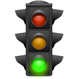 Go green green light light traffic icon icon search - What goes with light green ...