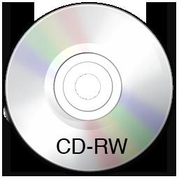 cdwriter, unmount icon