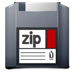 Unmount Zip Icon