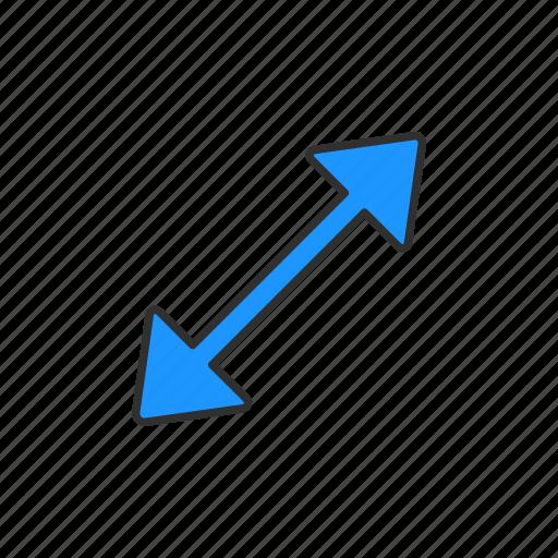 indicator, navigate, pointer, resize cursor icon