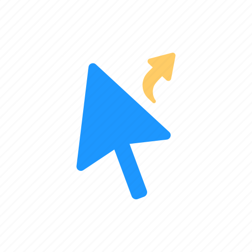 alias cursor, arrow, navigate, pointer icon