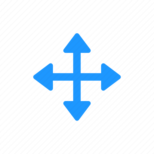 arrows, navigate, pointer, scroll cursor icon