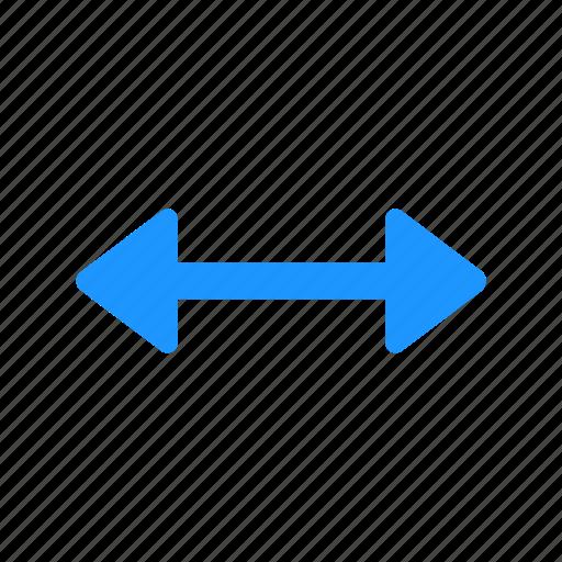arrow, indicator, pointer, resize cursor icon