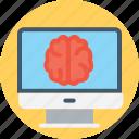 brain aneurysm, mri diagnosing, mri examining, mri scan, mri scan brain icon