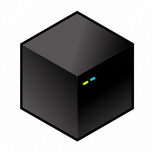 computer, cube, desktop, pc, server, tower icon