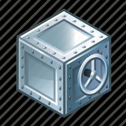 hidden, parcel, protection, safe, security, treasure, treasury icon