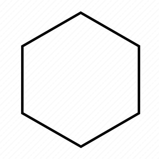 cube, line, of, outline, shape, slice icon