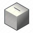 ballot, box, election, piggybank, poll, vote, voting icon