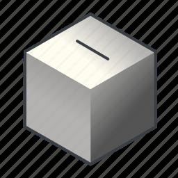 ballot, box, election, piggybank, poll, vote, voting icon